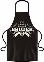 Schürze zum Grillen und Kochen - Danke Bruder-