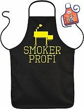 Schürzen Set Smoker Profi Spaß Grill Zubehör