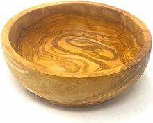 Schüssel 15x5cm aus Olivenholz handgefertigt auf