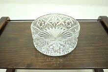 Schüssel aus Glas von Bohemia Glass, 1970er