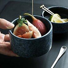 Schüssel Brei Porzellan Schälchen Geschirr für