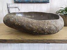 Schüsselförmige Waschbecken aus Stein 19 Format