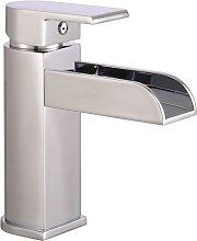SCHÜTTE Mischbatterie mit Wasserfall-Ausguss