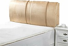 Schützen Sie die Taille lässigen Kissen Bett große Kissen abnehmbare und waschbare Doppelbett zurück Kissen Lendenwirbelstütze Bedside Rückenlehne QLDX-Cushions ( größe : 180*60cm )
