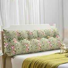 Schützen Sie die Taille lässigen Kissen Dreidimensional Dreieck Bettseite Kissen Kissen Rückenlehne Lordosenstütze Sofa Kissen gemütlich entspannen weich waschbar Leinwand QLDX-Cushions ( Farbe : #6 , größe : Length 100cm )