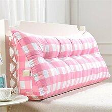 Schützen Sie die Taille lässigen Kissen Dreidimensional Dreieck Bettseite Kissen Kissen Rückenlehne Lordosenstütze Sofa Kissen gemütlich entspannen weich Kreative Mode QLDX-Cushions ( Farbe : #1 , größe : Length 90cm )