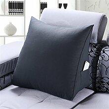 Schützen Sie die Taille lässigen Kissen Dreidimensional Dreieck Bettseite Kissen Kissen Rückenlehne Lordosenstütze Sofa Kissen gemütlich entspannen weich 58cm * 55cm * 28cm QLDX-Cushions ( Farbe : #4 , ausgabe : Common Style )