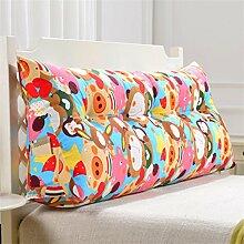 Schützen Sie die Taille lässigen Kissen Dreidimensional Dreieck Bettseite Kissen Kissen Rückenlehne Lordosenstütze Sofa Kissen gemütlich entspannen weich Kreative Mode QLDX-Cushions ( Farbe : #3 , größe : Length 100cm )
