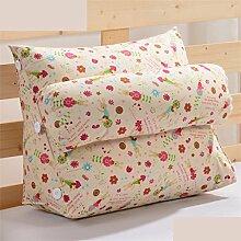 Schützen Sie die Taille lässigen Kissen Dreieck Dreidimensional Bettseite Sofa Kissen Kissen Rückenlehne Lordosenstütze Kissen gemütlich entspannen weich enthalten Kopfstütze Eine Vielzahl von Mustern Mehrere Größen Kreative Mode QLDX-Cushions ( Farbe : #21 , größe : 45cm*50cm*22cm )