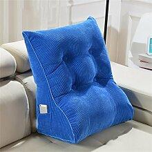 Schützen Sie die Taille lässigen Kissen Dreieck Dreidimensional Bettseite Sofa Kissen Kissen Rückenlehne Lordosenstütze Kissen gemütlich entspannen weich QLDX-Cushions ( Farbe : #2 , größe : 55cm*60cm*30cm )