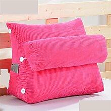 Schützen Sie die Taille lässigen Kissen Dreieck Dreidimensional Bettseite Sofa Kissen Kissen Rückenlehne Lordosenstütze Kissen gemütlich entspannen weich enthalten Kopfstütze Eine Vielzahl von Mustern Mehrere Größen Kreative Mode QLDX-Cushions ( Farbe : #2 , größe : 45cm*50cm*22cm )