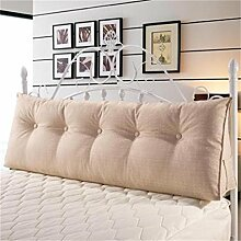 Schützen Sie die Taille lässigen Kissen Kissen Kissen Rückenlehne Bedside Einzelbett Doppelbett Sofa Große Kissen Pillow Komfortable Soft Relax Triangle QLDX-Cushions ( Farbe : #6 , größe : 100*50*20cm )