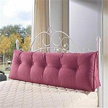 Schützen Sie die Taille lässigen Kissen Kissen Kissen Rückenlehne Bedside Einzelbett Doppelbett Sofa Große Kissen Pillow Komfortable Soft Relax Triangle QLDX-Cushions ( Farbe : #7 , größe : 120*50*20cm )