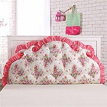 Schützen Sie die Taille lässigen Kissen Kissen Kissen Rückenlehne Bedside Einzelbett Doppelbett Bett Große Kissen Kissen Lovely Komfortable Soft Abnehmbare Wash QLDX-Cushions ( Farbe : #9 , größe : 200*85cm )