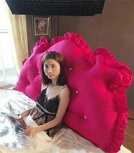 Schützen Sie die Taille lässigen Kissen Kissen Kissen Rückenlehne Bedside Einzelbett Doppelbett Bett Große Kissen Kissen Lovely Comfortable Soft QLDX-Cushions ( Farbe : #1 , größe : Length 1.2m )