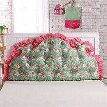 Schützen Sie die Taille lässigen Kissen Kissen Kissen Rückenlehne Bedside Einzelbett Doppelbett Bett Große Kissen Kissen Lovely Komfortable Soft Abnehmbare Wash QLDX-Cushions ( Farbe : #2 , größe : 120*85cm )