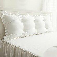 Schützen Sie die Taille lässigen Kissen Kissen Kissen Rückenlehne Bedside Einzelbett Doppelbett Bett Große Kissen Kissen Lovely Komfortable Soft Abnehmbare Wash QLDX-Cushions ( Farbe : #6 , größe : Length 1.2m )