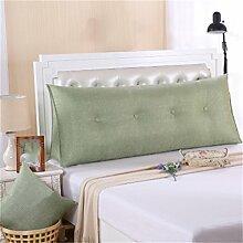 Schützen Sie die Taille lässigen Kissen Kissen Kissen Rückenlehne Bedside Einzelbett Doppelbett Sofa Große Kissen Pillow Komfortable Soft Relax Triangle QLDX-Cushions ( Farbe : #4 , größe : 120*50*20cm )