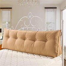 Schützen Sie die Taille lässigen Kissen Kissen Kissen Rückenlehne Bedside Einzelbett Doppelbett Sofa Große Kissen Pillow Komfortable Soft Relax Triangle QLDX-Cushions ( Farbe : #5 , größe : 60*50*20cm )