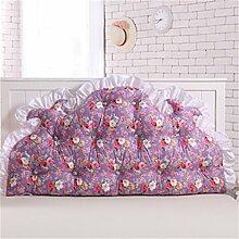 Schützen Sie die Taille lässigen Kissen Kissen Kissen Rückenlehne Bedside Einzelbett Doppelbett Bett Große Kissen Kissen Lovely Komfortable Soft Abnehmbare Wash QLDX-Cushions ( Farbe : #7 , größe : 200*85cm )