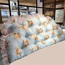 Schützen Sie die Taille lässigen Kissen Kissen Kissen Rückenlehne Bedside Einzelbett Doppelbett Bett Große Kissen Kissen Lovely Comfortable Soft QLDX-Cushions ( Farbe : #1 , größe : Length 2.0m )