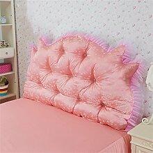 Schützen Sie die Taille lässigen Kissen Kissen Kissen Rückenlehne Bedside Einzelbett Doppelbett Bett Große Kissen Kissen Lovely Komfortable Soft Abnehmbare Wash QLDX-Cushions ( Farbe : #1 , größe : Length 2.0m )