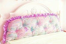 Schützen Sie die Taille lässigen Kissen Kissen Kissen Rückenlehne Bedside Einzelbett Doppelbett Bett Große Kissen Kissen Lovely Komfortable Soft Abnehmbare Wash QLDX-Cushions ( Farbe : #2 , größe : Length 1.8m )