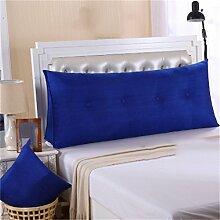 Schützen Sie die Taille lässigen Kissen Kissen Kissen Rückenlehne Bedside Einzelbett Doppelbett Sofa Große Kissen Pillow Komfortable Soft Relax Triangle QLDX-Cushions ( Farbe : #8 , größe : 90*50*20cm )