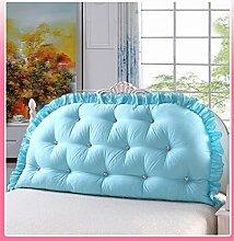 Schützen Sie die Taille lässigen Kissen Kissen Kissen Rückenlehne Bedside Einzelbett Doppelbett Bett Große Kissen Kissen Lovely Komfortable Soft Abnehmbare Wash QLDX-Cushions ( Farbe : #10 , größe : 150*80cm )