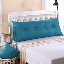Schützen Sie die Taille lässigen Kissen Kissen Kissen Rückenlehne Bedside Einzelbett Doppelbett Sofa Große Kissen Pillow Komfortable Soft Relax Triangle QLDX-Cushions ( Farbe : #5 , größe : 90*50*20cm )