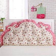Schützen Sie die Taille lässigen Kissen Kissen Kissen Rückenlehne Bedside Einzelbett Doppelbett Bett Große Kissen Kissen Lovely Komfortable Soft Abnehmbare Wash QLDX-Cushions ( Farbe : #5 , größe : 120*85cm )