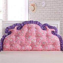 Schützen Sie die Taille lässigen Kissen Kissen Kissen Rückenlehne Bedside Einzelbett Doppelbett Bett Große Kissen Kissen Lovely Komfortable Soft Abnehmbare Wash QLDX-Cushions ( Farbe : #8 , größe : 150*85cm )