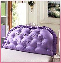 Schützen Sie die Taille lässigen Kissen Kissen Kissen Rückenlehne Bedside Einzelbett Doppelbett Bett Große Kissen Kissen Lovely Komfortable Soft Abnehmbare Wash QLDX-Cushions ( Farbe : #1 , größe : 200*80cm )