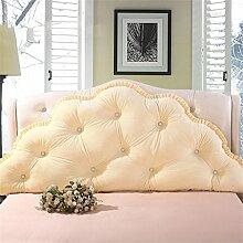 Schützen Sie die Taille lässigen Kissen Kissen Kissen Rückenlehne Bedside Einzelbett Doppelbett Bett Große Kissen Kissen Lovely Comfortable Soft QLDX-Cushions ( Farbe : #11 , größe : Length 1.2m )