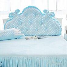 Schützen Sie die Taille lässigen Kissen Kissen Kissen Rückenlehne Bedside Einzelbett Doppelbett Bett Große Kissen Kissen Lovely Komfortable Soft Abnehmbare Wash QLDX-Cushions ( Farbe : #2 , größe : Length 2.0m )