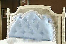 Schützen Sie die Taille lässigen Kissen Kissen Kissen Rückenlehne Bedside Einzelbett Doppelbett Bett Große Kissen Kissen Lovely Comfortable Soft QLDX-Cushions ( Farbe : #2 , größe : Length 1.5m )
