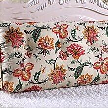 Schützen Sie die Taille lässigen Kissen kreativ Dreidimensional Dreieck Bettseite Kissen Sofa Kissen Rückenlehne Kissen Lordosenstütze gemütlich entspannen Leinwand Baumwolle QLDX-Cushions ( Farbe : #5 , größe : 120cm*50cm*25cm )