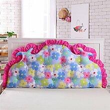 Schützen Sie die Taille lässigen Kissen kreativ Dreidimensional Bettseite Kissen Sofa Kissen Rückenlehne Kissen Lordosenstütze gemütlich waschbar süß Kinderzimmer Princess Room 120cm * 70cm QLDX-Cushions ( Farbe : #4 )