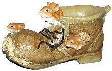 Schuh mit Hase, 27x14x14cm