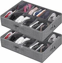 Schuh-Organizer unter dem Bett, Schrank, Schuhe,