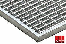 Schuhabstreifer Aco Vario Maschenrost Stahl verzinkt 75x50