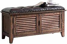 Schuhbank aus massivem Holz kann verwendet werden,