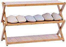 Schuhe Rack 3-Tier Faltbare Speicheranlage Stehen