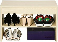 Schuhregal Mode Flip Schuhbank Lagerung Lagerung