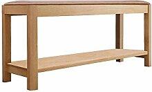 Schuhregal Xiaolin massivem Holz Sitzbank