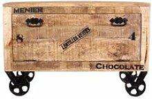 Schuhschrank RUSTIC-14 85x40x56cm natur antik mit