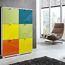 Schuhschr nke aluminium g nstig online kaufen lionshome for Schuhschrank aluminium