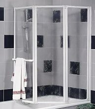 Schulte D1510 Badewannenaufsatz 3-teilig 1400x1268