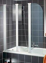 Schulte D1654 Badewannenaufsatz 3-teilig 1400x1250