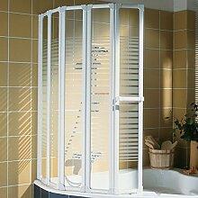 Schulte Duschabtrennung faltbar für Badewanne,